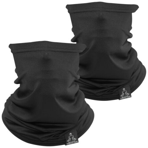 2 PACK Temple Tape Lightweight Breathable Cooling Neck Gaiter-