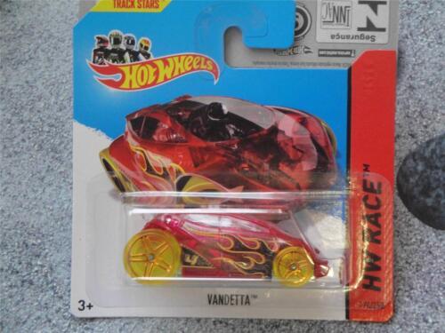 Hot Wheels 2014 #174//250 VANDETTA red HW RACE