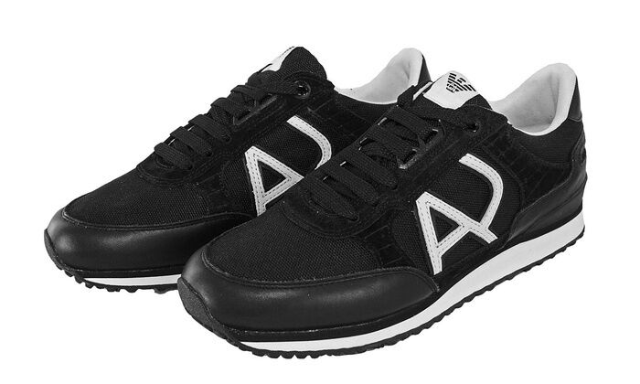 Armani Jeans Men's Classic AJ Fashion Sneaker