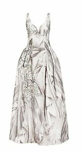 H-amp-M-CONSCIOUS-EXCLUSIVE-Wedding-Dress-XS-M-Silk-Linen-Embroidery-Bridal-Gown