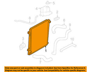 image is loading ford-oem-radiator-3l2z-8005-aa-factory-2002-