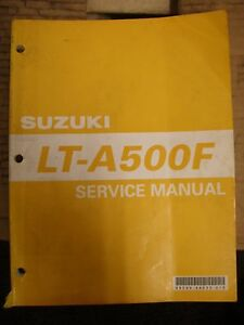 suzuki lt a500f service manual 99500 44030 01e ebay rh ebay com Suzuki LT 500 Quadzilla 2000 suzuki lt-a500f service manual