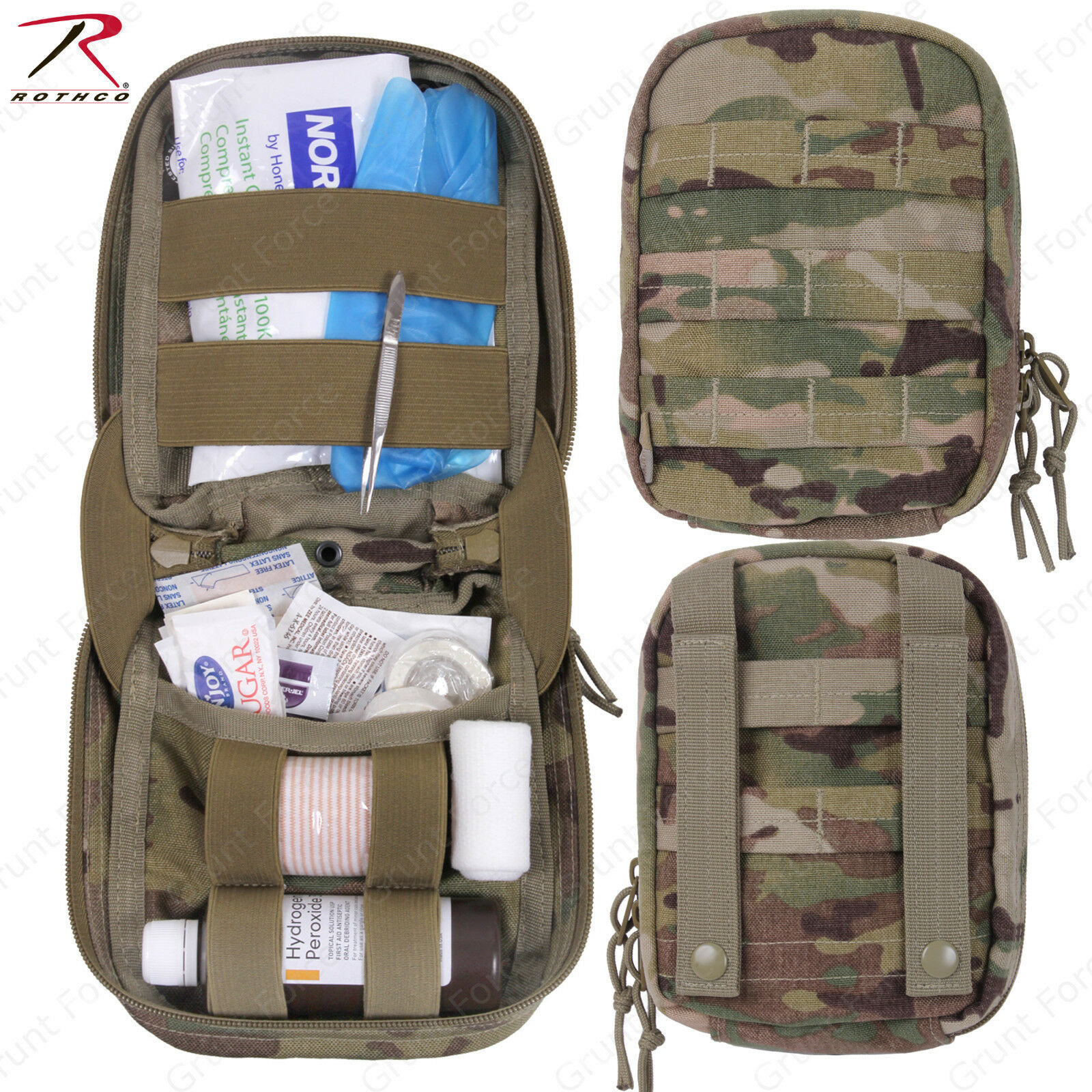 redhco MultiCam MOLLE  Tactical Trauma First Aid Kit - Includes Medical Supplies  hottest new styles