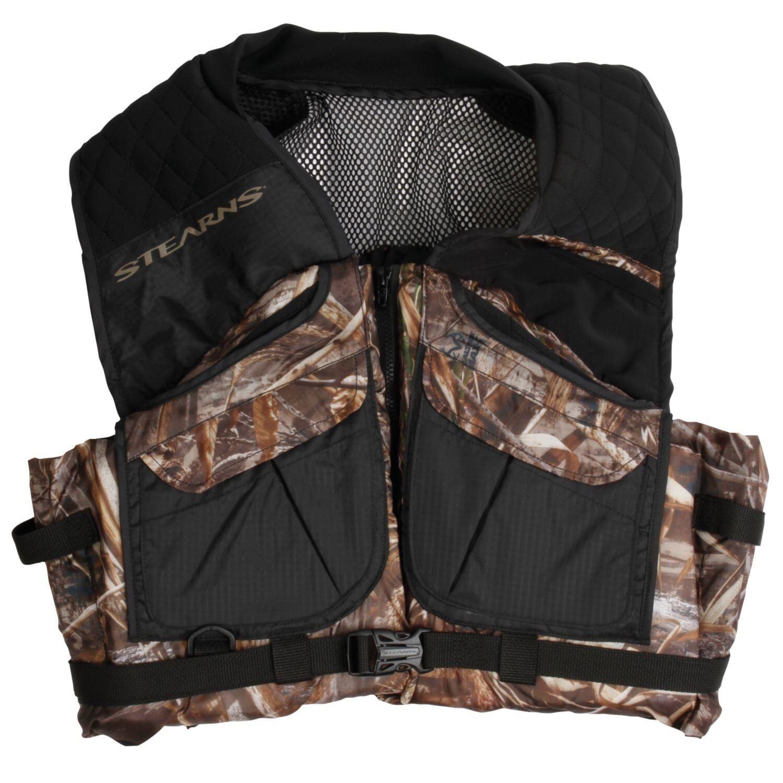 NEW Stearns PFD Adult Comfort Series Max-5 Camo Vest, XX-Large 2000019815
