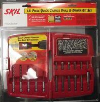 Skil 90918 18pc Quick Change Drill & Driver Bit Set