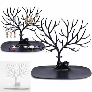 Stand-Display-Tree-Jewelry-Organizer-Ring-Earring-Necklace-Holder-Show-Rack-G6A