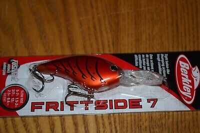Special Red Craw NIP Berkley Frittside 5 Flat-Sided Crankbait BHBFS5