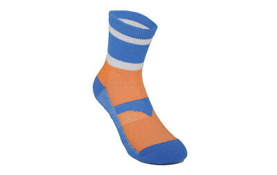 Brand New Holdsworth campagnolo Argyle sorbtek cycling socks L-XL orange blue