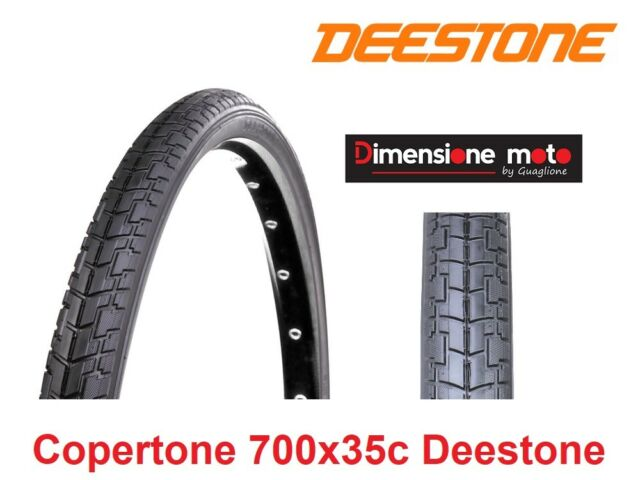 "Camera d/'aria Deestone per Bici 26/"" Tipo Trekking 1 Copertone Nero 26x1,90"
