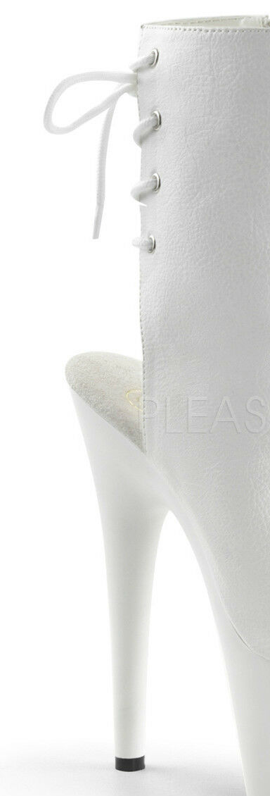 Pleaser Adore-1018 Sexy Platform Weiß Weiß Weiß Pu 7