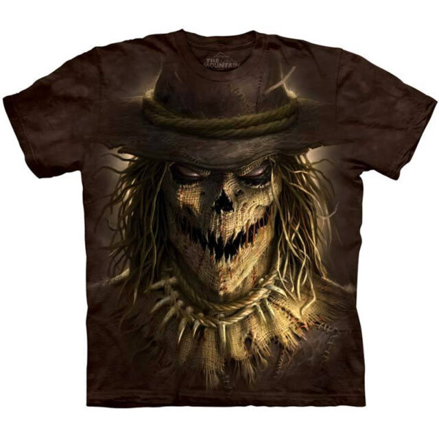 SCARECROW T-Shirt The Mountain Big Face Halloween Horror Scary S-3XL NEW