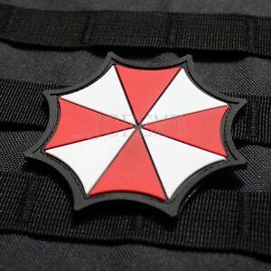 Resident Evil Umbrella Corporation U.S.S 3D PVC Shoulder Patch