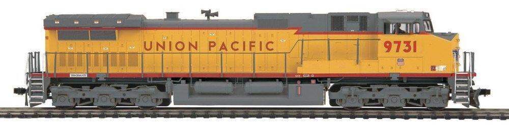 MTH Union Pacific Dash -9 Diesel Locomotive Engine HO skala Tågs 80 -2310 -0