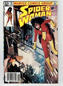 Spider-Woman-50-Canadian-Newsstand-Price-Variant-Rare-1983-Last-Issue