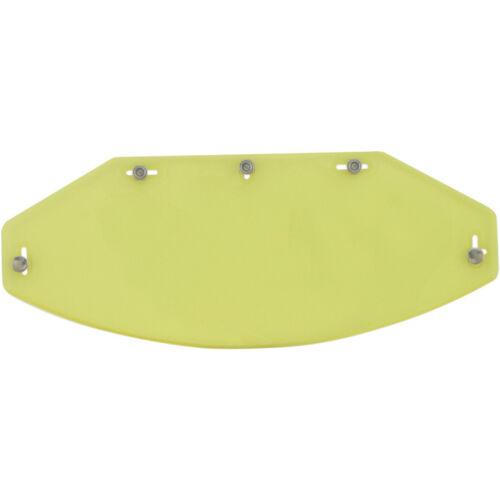 Visiera Shield Visor Gialla Yellow Casco Jet 5 Bottoni Automatici Flat 5-Snap