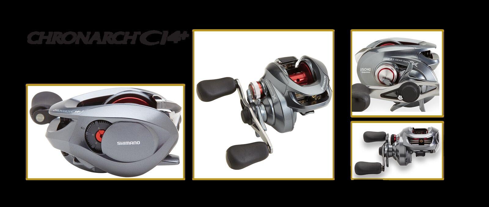 SHIMANO CHRONARCH C14151 BAITCASTER FISHING REEL  LH   shopping online di moda