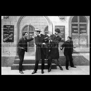 Photo F.000408 LES APACHES DE PARIS (FERDINAND ZECCA MOVIE) 1905