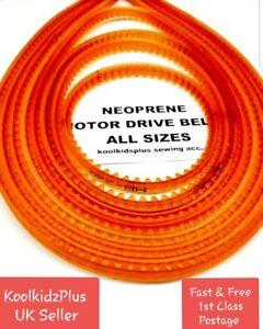 MOTOR DRIVE BELT / SEWING MACHINE BELTS / NEOPRENE BELTS / DOMESTIC  INDUSTRIAL
