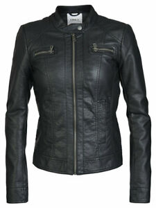 ONLY-GIACCHETTO-DONNA-BANDIT-FAUX-LEATHER-BIKER-15081400