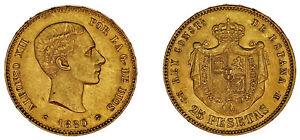 25-GOLD-PESETAS-25-PESETAS-ORO-ALFONSO-XII-MADRID-1880-AU-SC