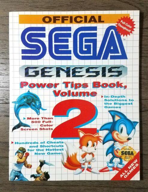 Official Sega Genesis Power Tips Book Volume 2 Vintage Sega Strategy Guide For Sale Online Ebay