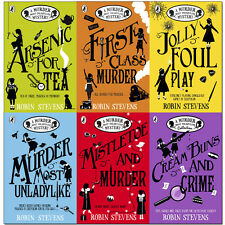 Robin Stevens Collection A Murder Most Unladylike Mystery 6 Books Set Pack New