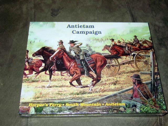 RARE Decision Games - Antietam Campaign game - Three Civil War Battles (SEALED)