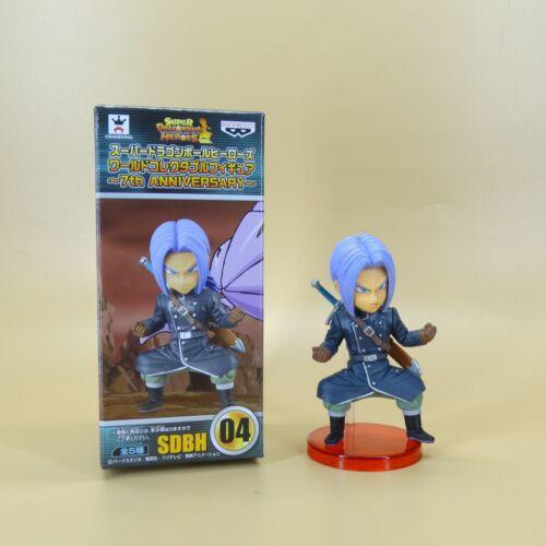 "Super DragonBall Z DBZ Heroes World 7th Anniversary Trunks Statue FIGURE 3/"" NEW"