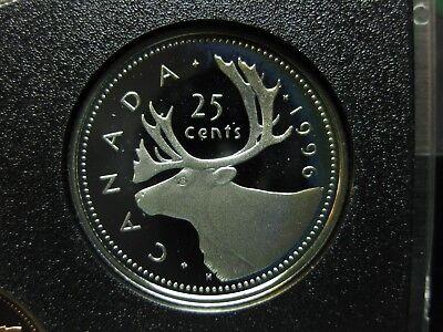 $0.25 1996 Canadian Prooflike Quarter