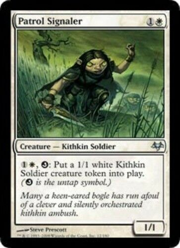 English Eventide MTG Magic 4x Patrol Signaler NM-Mint