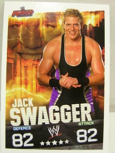 Slam attax evolution #061 jack swagger