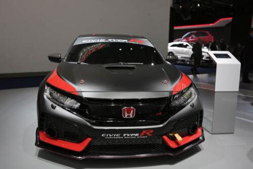 RACING SET Red H Emblem 3PCS Front /& Rear For 2016-18 HONDA CIVIC HATCHBACK