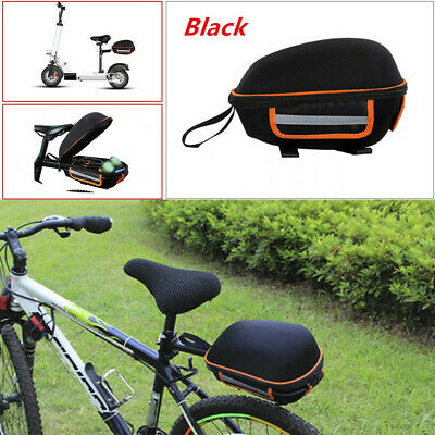 Mountain Bike Bicycle Rear Rack Carrier Seatpost Pannier Pack Frame Seat Bag Set