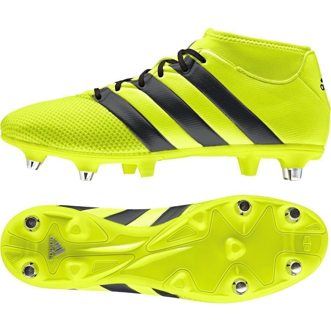 Scarpe calcio miste uomo Adidas Ace 16.3 Primemesh SG BB8422 giallonero