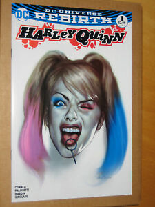 HARLEY-QUINN-1-FORBIDDEN-PLANET-OLIVER-VARIANT-2016-DC-REBIRTH-BATMAN-1ST-FIRST