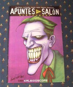 APUNTES-DEL-SALON-RARE-SPANISH-SKETCHBOOK-year-1999-LIMITED-EDITION