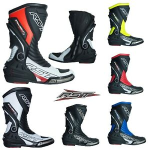 RST-Motorbike-Motorcycle-Sport-Track-Tractech-Evo-3-CE-Boots-New