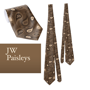 JW-necktie-Pioneer-gifts-58-Long-Jehovah-s-Witnesses-JW-paisley-convention