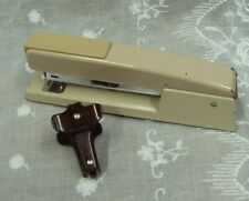 Lot2 Vtg Swingline 747 Metal Desk Stapler Ace Bakelite Staple Remover Puller