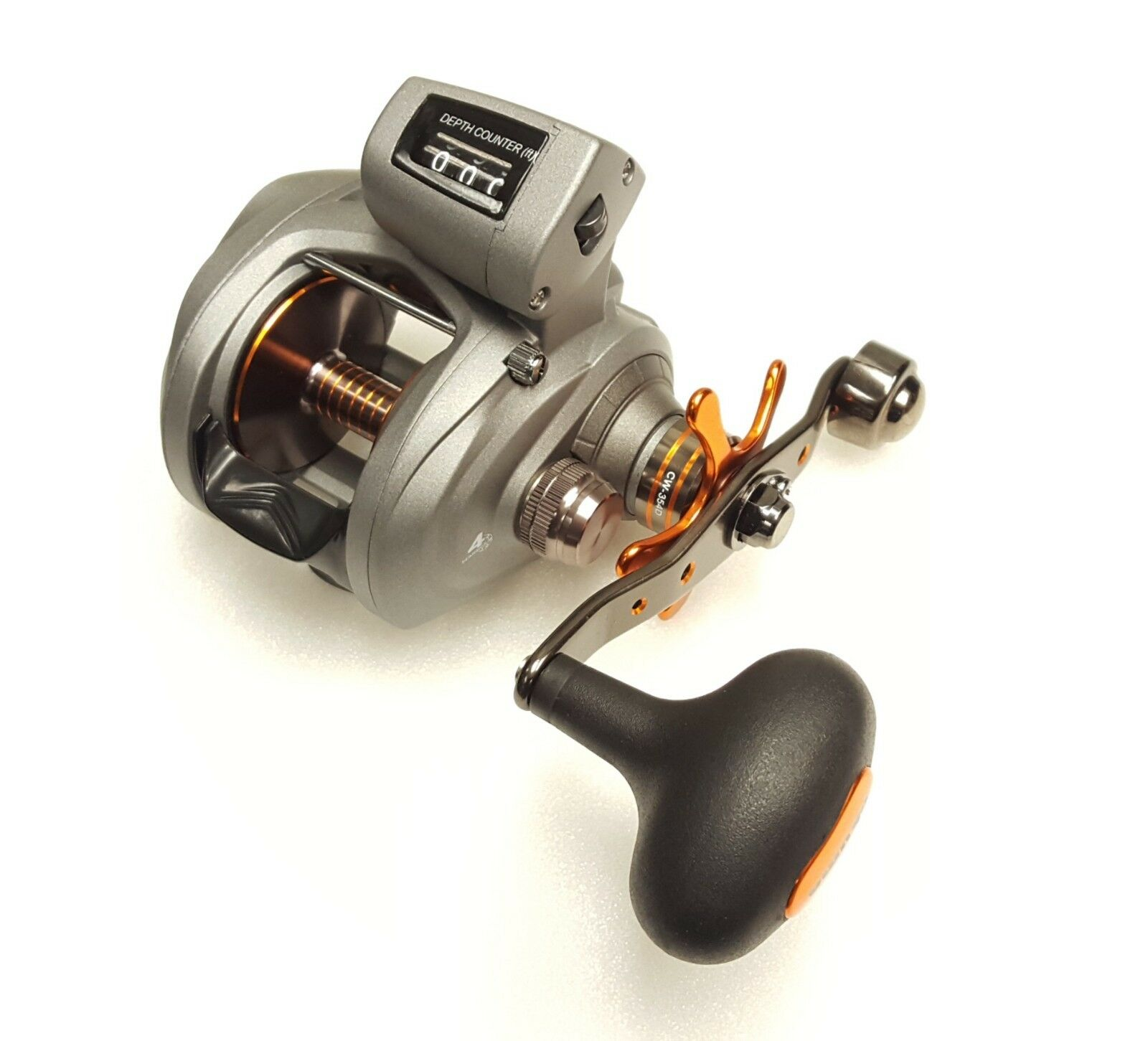 Okuma Cold Water Line Counter 5.4:1 Baitcast Reel, Right Hand Hand Right - CW-354D 936fee