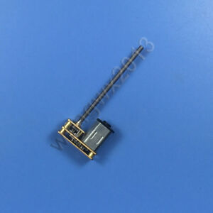 DC6V Mini Metal Gear Motor 30 To 400RPM Long Shaft Screw Thread M3x55mm Useful