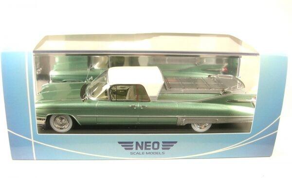 Cadillac superior Flower car (Metallic vert blanc) 1959
