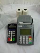 First Data FD100 Credit Card Terminal and FD-10 Pinpad
