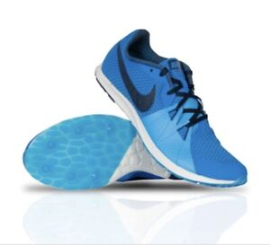 NEW-Nike-Zoom-Rival-Waffle-Running-Shoes-904720-402-Size-10-Blue-Gray-MSRP-65