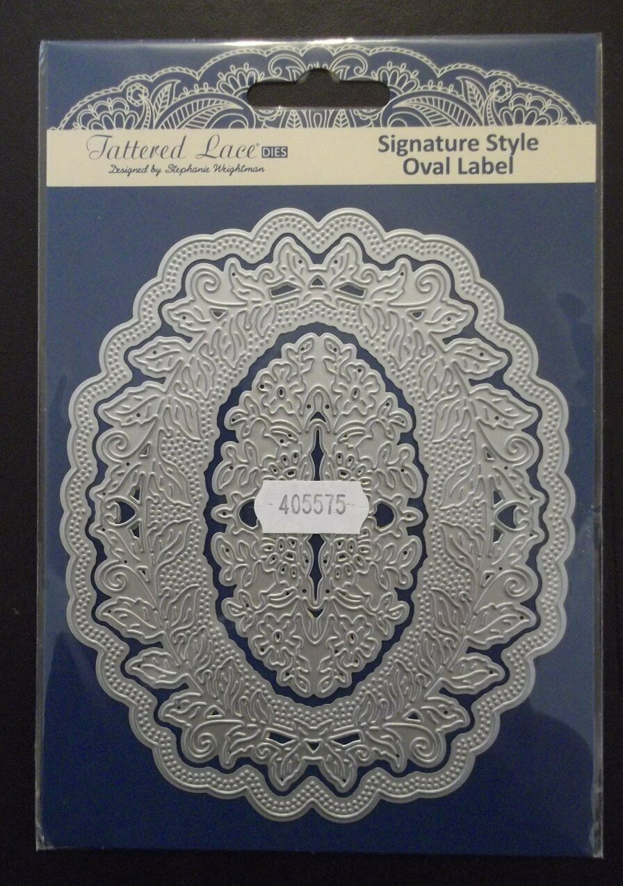 Signature Style Decorative Border Die Tattered Lace
