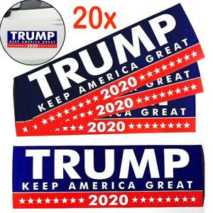 20Pcs-Donald-Trump-President-2020-KEEP-AMERICA-GREAT-Bumper-Car-Stickers-Bu
