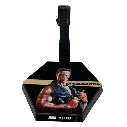 1//6 Scale Action Figure Stand Commando John Matrix #02