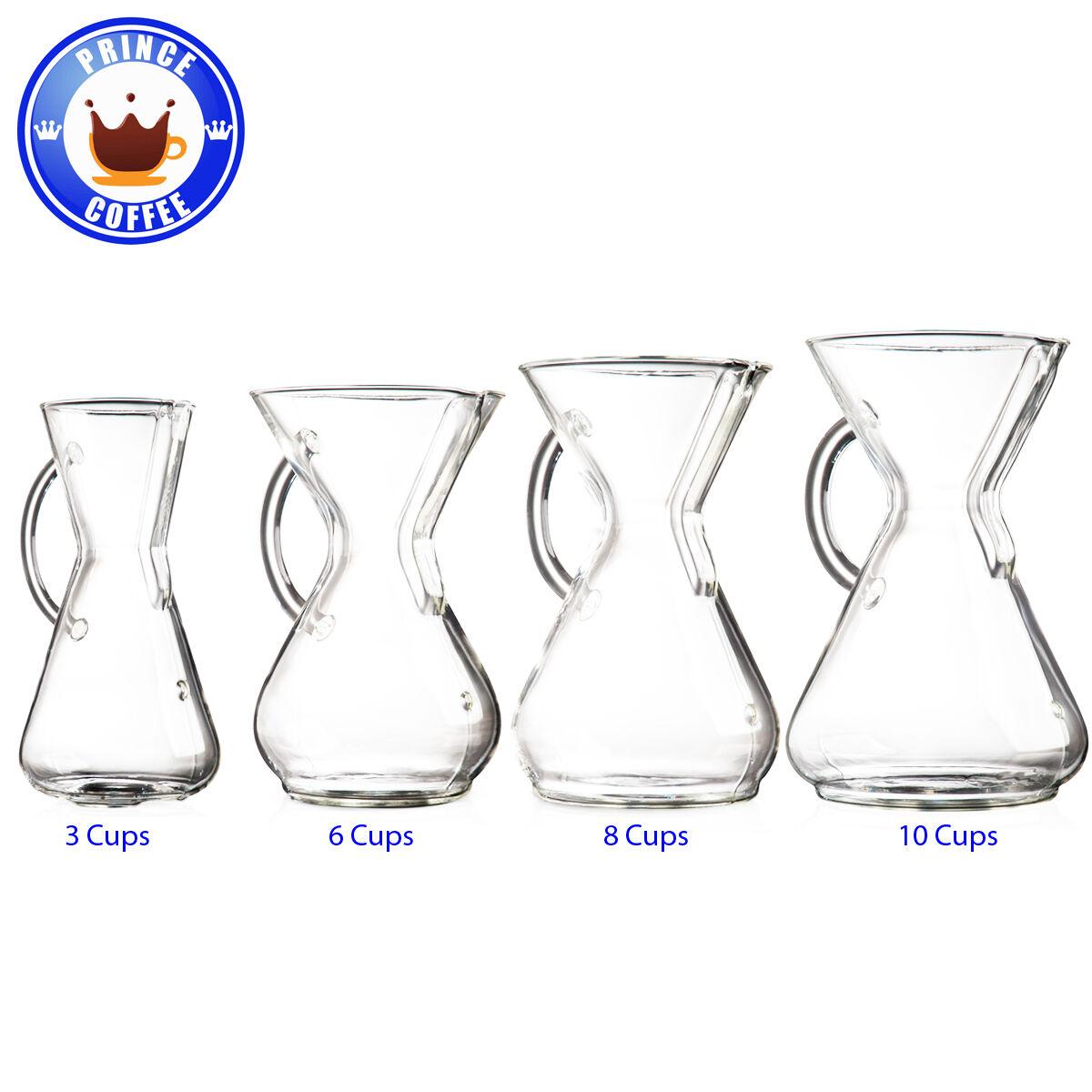 Chemex avec verre poignée cafetière CM-1GH CM-6GH CM-8GH CM-10GH 3 6 8 10 Tasses