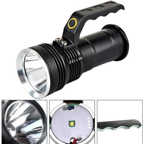 3-Mode 3000LM Handheld  XM-L Rechargeable LED 18650 Flashlight Torch Lamp US
