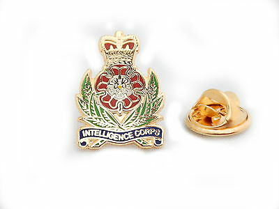 Intelligence Corps Lapel Pin Badge